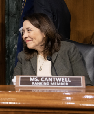 Photo of Ranking Member Maria Cantwell